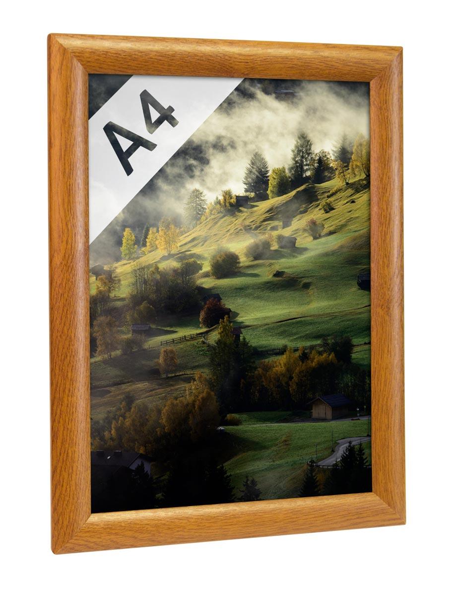 Alu-Klapprahmen in Holz-Optik DIN A4 vom Hersteller kaufen | Alu ...