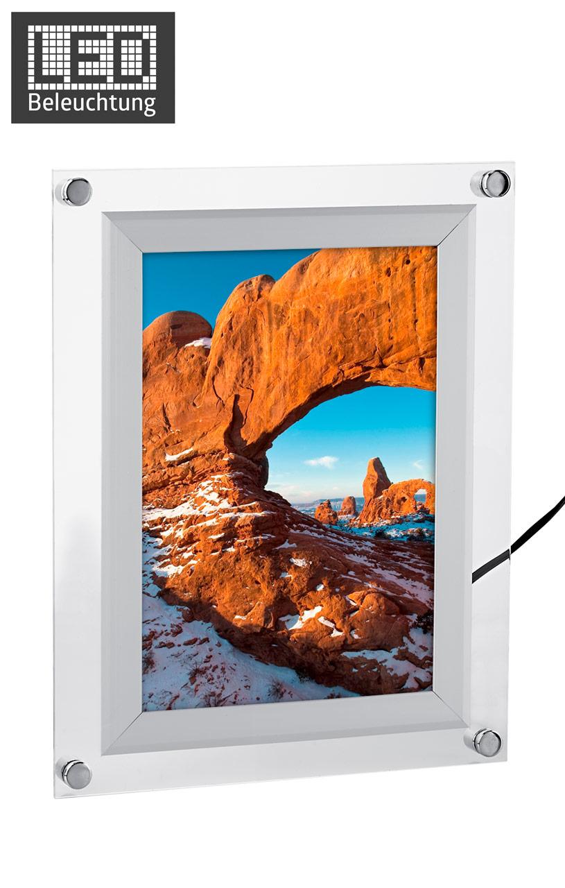Acryl LED Leuchtrahmen Acrylglas vom Hersteller kaufen