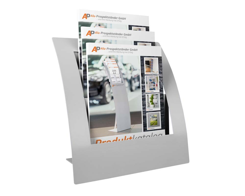 Prospekthalter//Flyerst/änder Flyerhalter DIN A5 Tischprospekthalter mit 6 F/ächern//Prospektst/änder