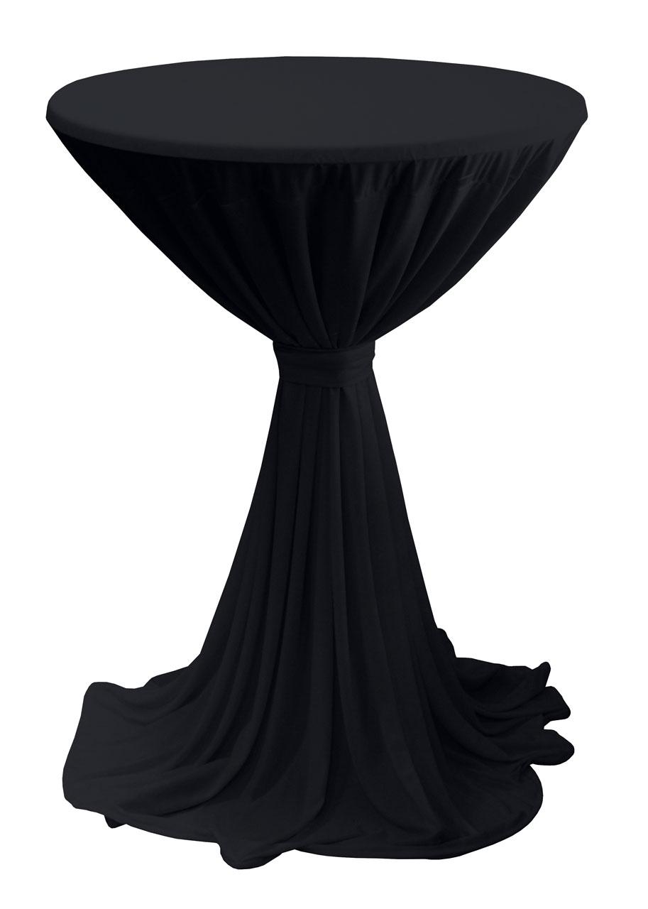 stehtisch husse mit schleife f r 85 cm stehtische alu prospektst nder gmbh. Black Bedroom Furniture Sets. Home Design Ideas