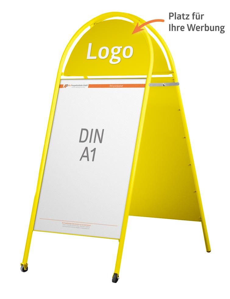 kundenstopper vom hersteller g nstig online kaufen. Black Bedroom Furniture Sets. Home Design Ideas